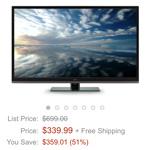 Amazon.comで4Kテレビがもっと安くなってた話